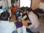 Prácticas de primeros auxilios en el curso ESA First Aid. Natursub